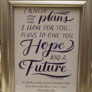 Framed Wisdom to Encourage!